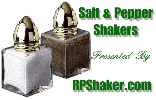 Glass and Crystal Salt and Pepper Shakers with Chrome, Gold or Silver Tops found in the finest Hotels and Restaurants. RPSHAKER is the place to go for that perfect gift or to put the finishing touches to your dining experience .